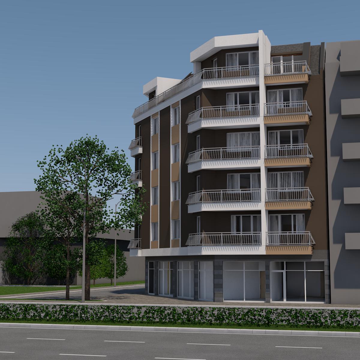 Многофамилна жилищна сграда – гр. Пловдив